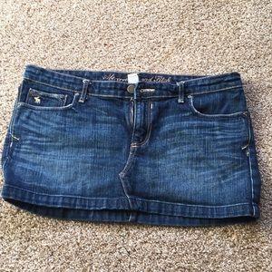 AF jeans skirt